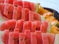 Feine Melonen zum Frühstück